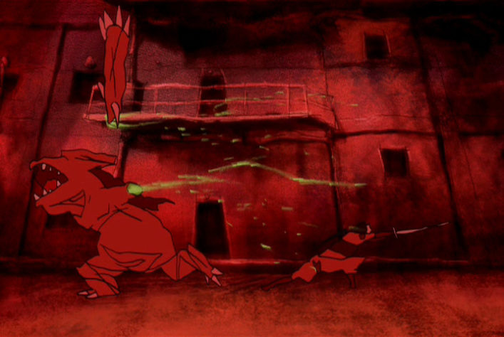 [NoobSubs] Kemonozume 01 (480p DVD 8bit AAC) (6)