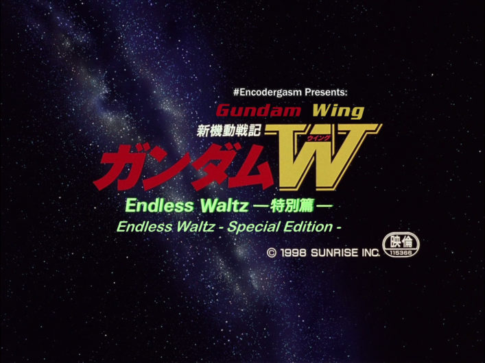 [NoobSubs] Gundam Wing - Endless Waltz Special Edition (1080p Blu-ray 8bit AAC)