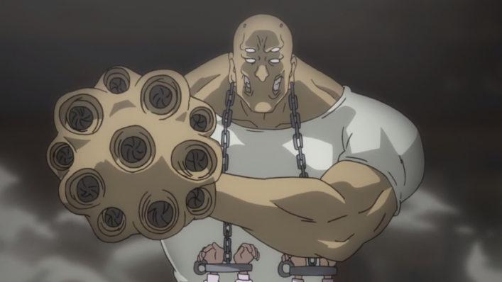 [NoobSubs] Kekkai Sensen~Blood Blockade Battlefront 01 (720p eng dub 8bit AAC) (13)