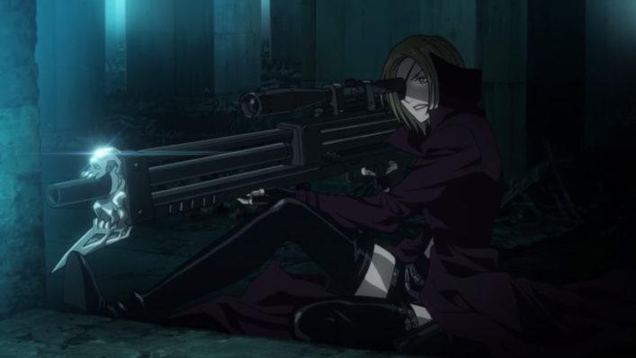 [NoobSubs] Kekkai Sensen~Blood Blockade Battlefront 01 (720p eng dub 8bit AAC) (4)