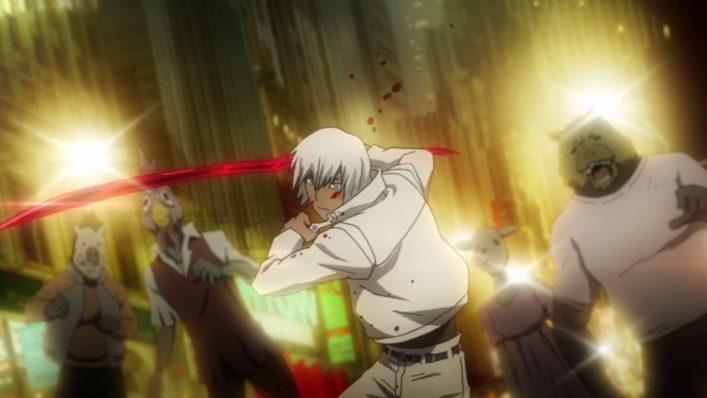 [NoobSubs] Kekkai Sensen~Blood Blockade Battlefront 01 (720p eng dub 8bit AAC) (5)