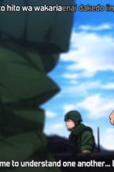 [NoobSubs] GATE Jieitai Kanochi nite, Kaku Tatakaeri 01 (1080p Blu-ray 8bit AAC)