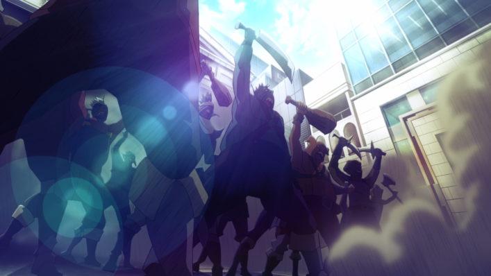 [NoobSubs] GATE Jieitai Kanochi nite, Kaku Tatakaeri 01 (1080p Blu-ray 8bit AAC) (8)