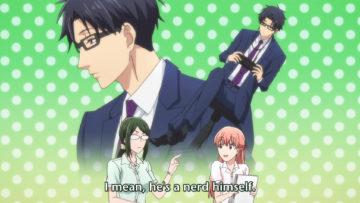 [NoobSubs] Wotaku ni Koi wa Muzukashii 02 (1080p Blu-ray 8bit AAC) (1)